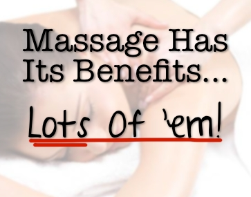 Massage Has A Lot of Benefits